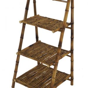 A1080.1 – B173 3SHELVES  BAMBOO 43x50x98