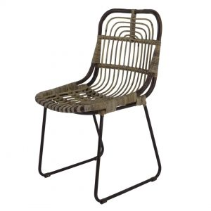 C1024DBR -Β172 CHAIR ORNOS 54x45x88